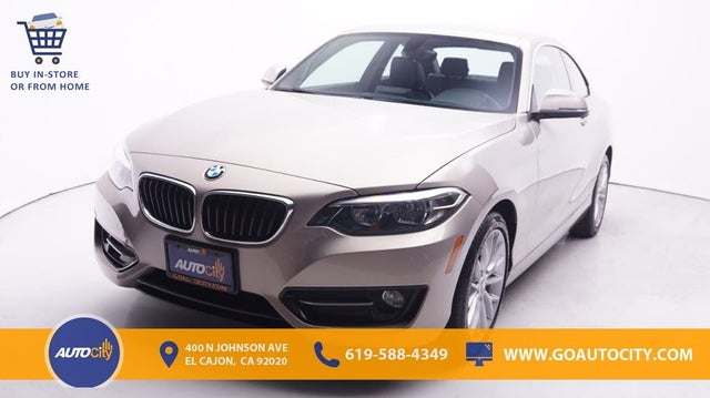 2016 BMW 2 Series 228i Coupe RWD