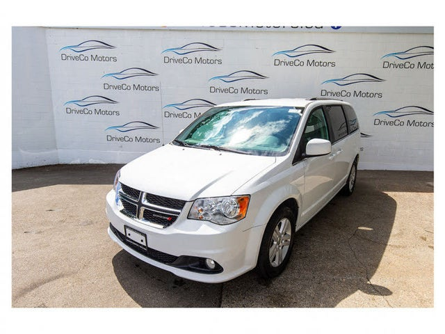 2018 Dodge Grand Caravan Crew Plus FWD