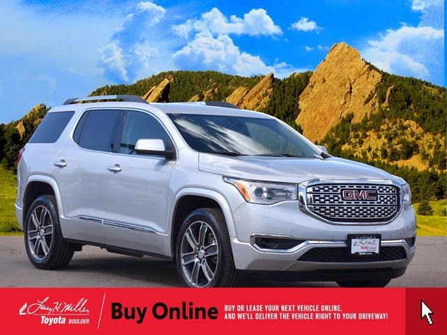 Used 2019 Gmc Acadia Denali Awd For Sale With Photos Cargurus