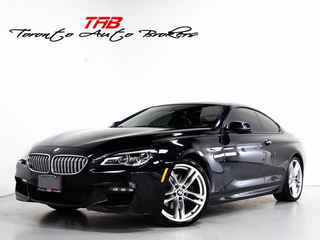 2016 BMW 6 Series 650i xDrive Coupe AWD