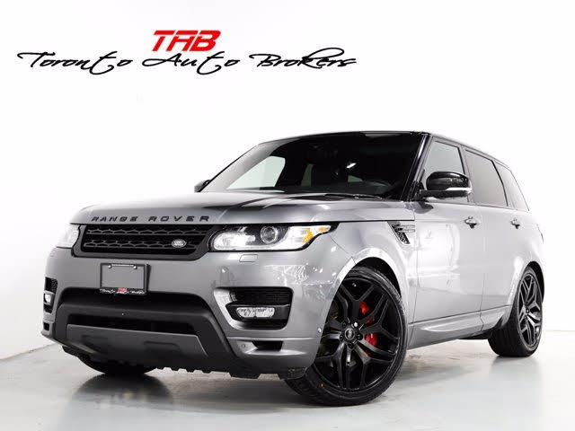 2017 Land Rover Range Rover Sport V6 HSE Dynamic 4WD
