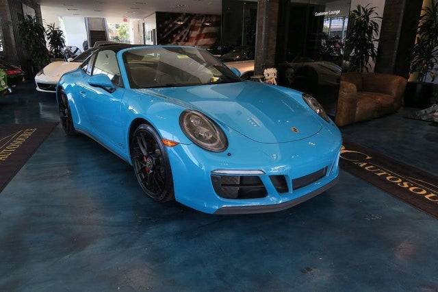Used 2017 Porsche 911 Targa 4 Gts Convertible Rwd For Sale With Photos Cargurus