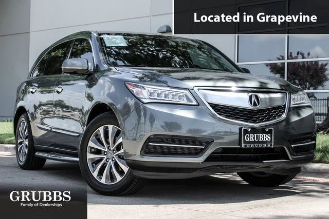 2014 Acura MDX FWD with Technology Package