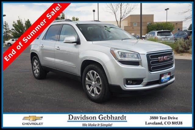 Used Gmc Acadia For Sale In Denver Co Cargurus