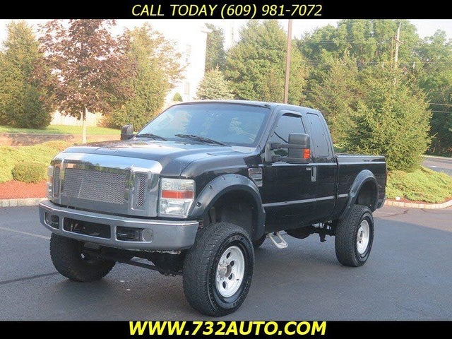 2008 Ford F-250 Super Duty XLT Super Cab 4WD