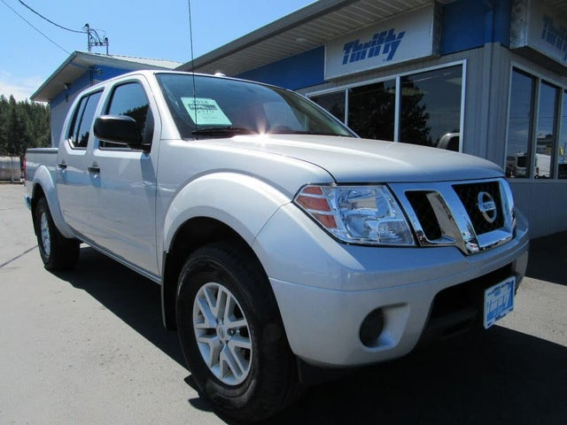 2018 Nissan Frontier SV V6 Crew Cab 4WD