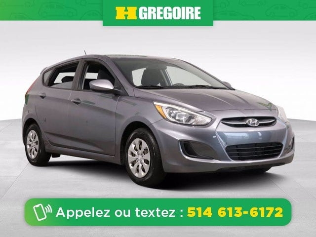 2015 Hyundai Accent L 4-Door Hatchback FWD