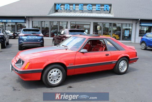 Used 1986 Ford Mustang Gt Coupe Rwd For Sale Right Now Cargurus