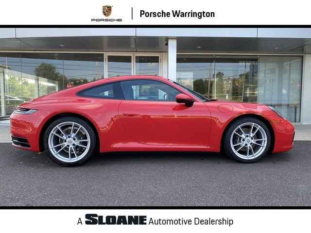 2020 Porsche 911 Carrera 4 Coupe AWD