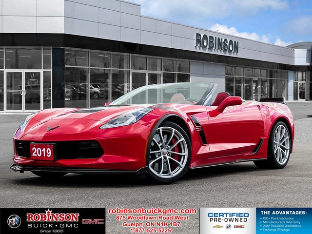 2019 Chevrolet Corvette Grand Sport 3LT Convertible RWD
