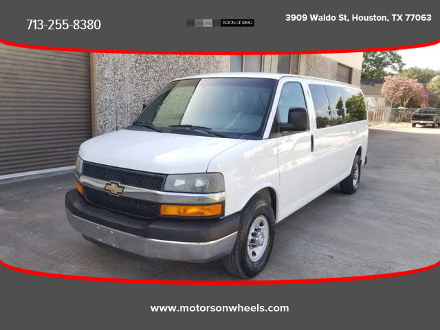 2014 Chevrolet Express 3500 1LT Extended RWD
