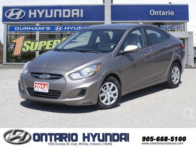 2014 Hyundai Accent GL Sedan FWD
