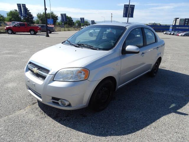 2007 Chevrolet Aveo LT Sedan FWD