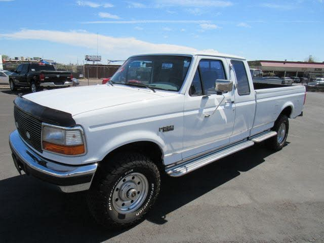 1997 Ford F-250 2 Dr XLT 4WD Extended Cab LB HD