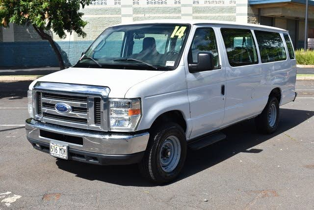 2014 Ford E-Series E-350 XL Super Duty Extended Passenger Van