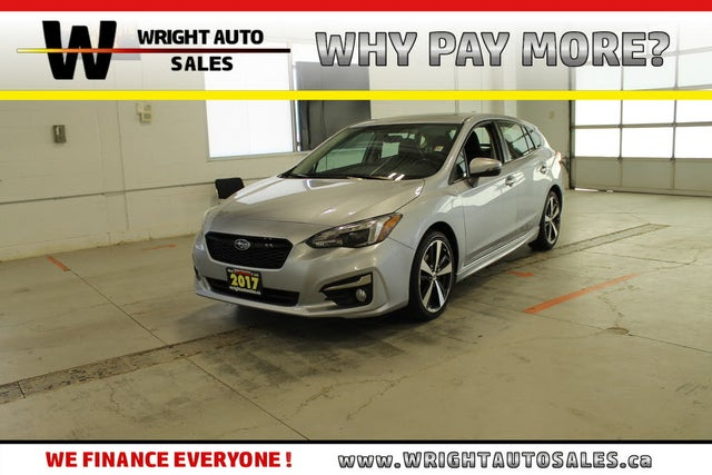 2017 Subaru Impreza 2.0i Sport-tech Wagon with Technology AWD