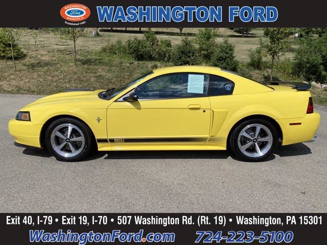 2003 Ford Mustang Mach 1 Coupe RWD