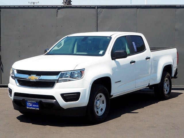 2019 Chevrolet Colorado Work Truck Crew Cab LB RWD