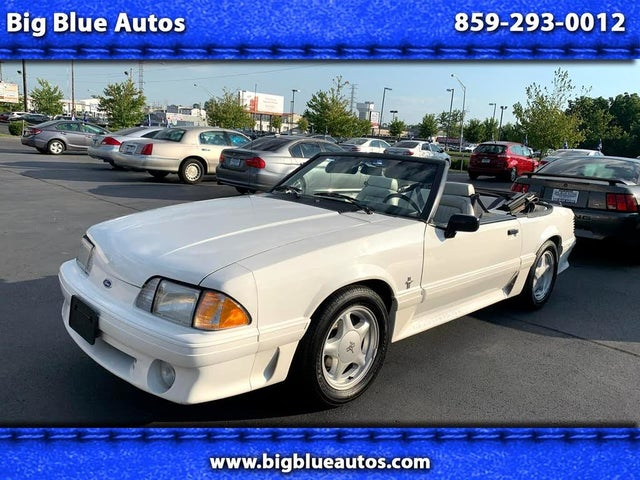 1993 Ford Mustang GT Convertible RWD