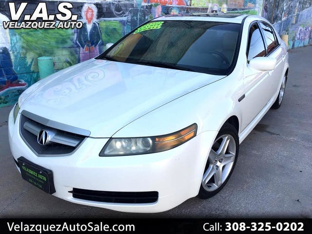 2004 Acura TL FWD with Performance Tires