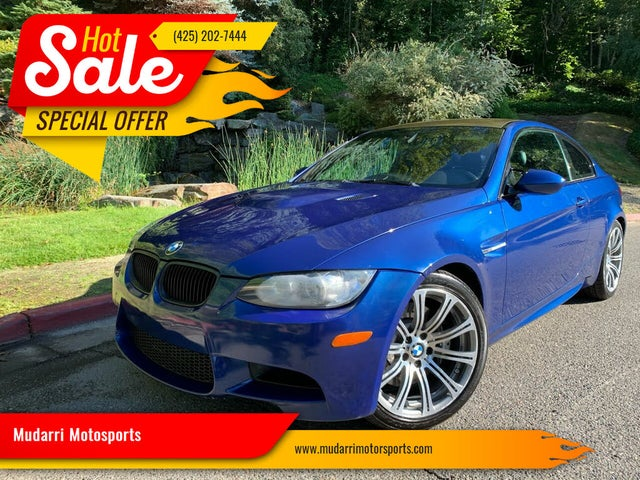 2012 BMW M3 Coupe RWD