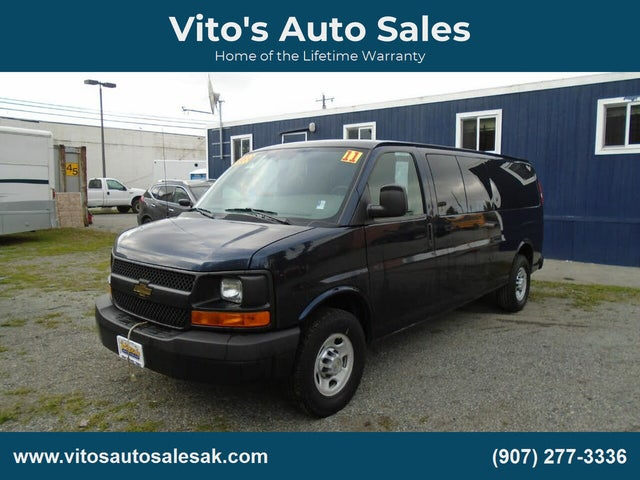 2011 Chevrolet Express 3500 1LS Extended RWD