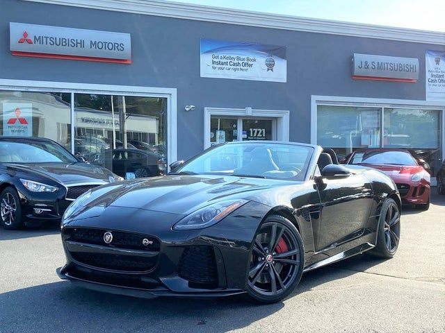 2017 Jaguar F-TYPE SVR Convertible AWD