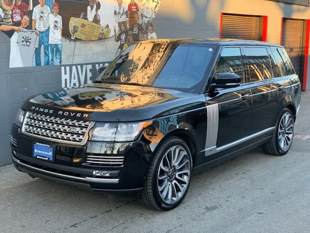2016 Land Rover Range Rover V8 Autobiography LWB 4WD