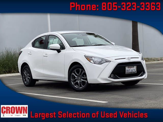 2019 Toyota Yaris XLE Sedan FWD