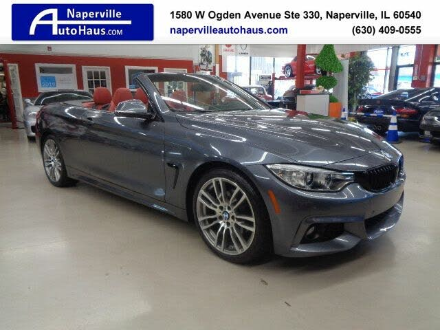 2017 BMW 4 Series 430i Convertible RWD