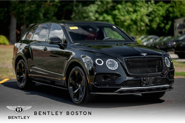 2018 Bentley Bentayga W12 Black Edition AWD