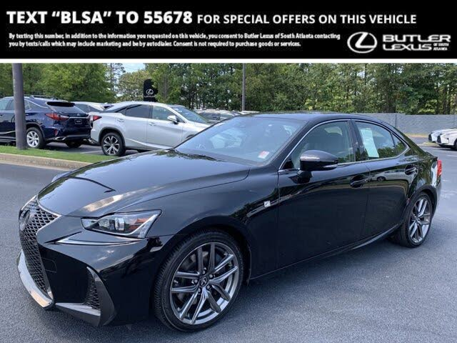 2018 Lexus IS 350 RWD