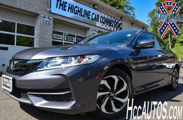 2017 Honda Accord Coupe EX with Honda Sensing