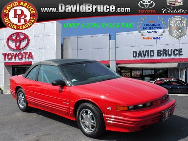 1993 Oldsmobile Cutlass Supreme 2 Dr STD Convertible