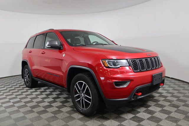 Used 2017 Jeep Grand Cherokee Trailhawk 4WD for Sale (with ...