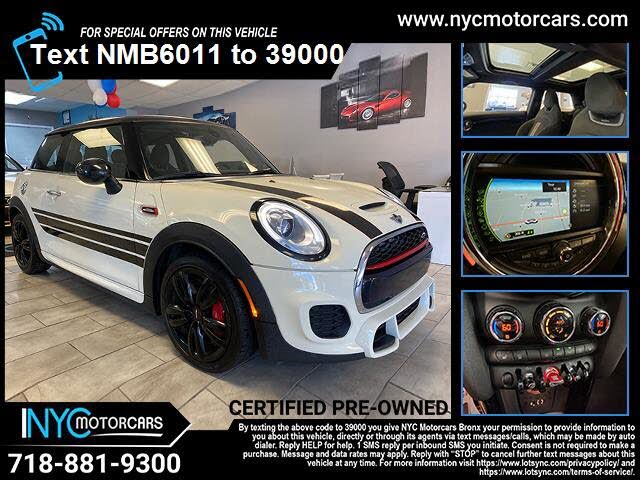 2017 MINI Cooper John Cooper Works 2-Door Hatchback FWD