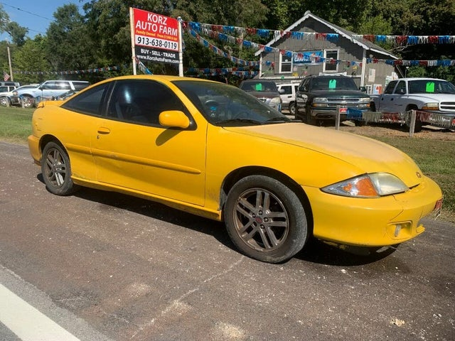 used 2002 chevrolet cavalier ls sport coupe fwd for sale right now cargurus ls sport coupe fwd
