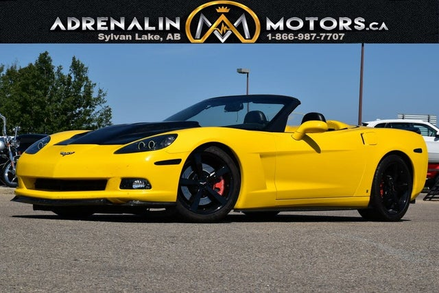 2007 Chevrolet Corvette Indy Pace Car Edition Convertible RWD