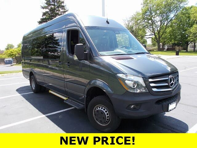 2017 Mercedes-Benz Sprinter Cargo 3500 XD 170 V6 High Roof DRW 4WD