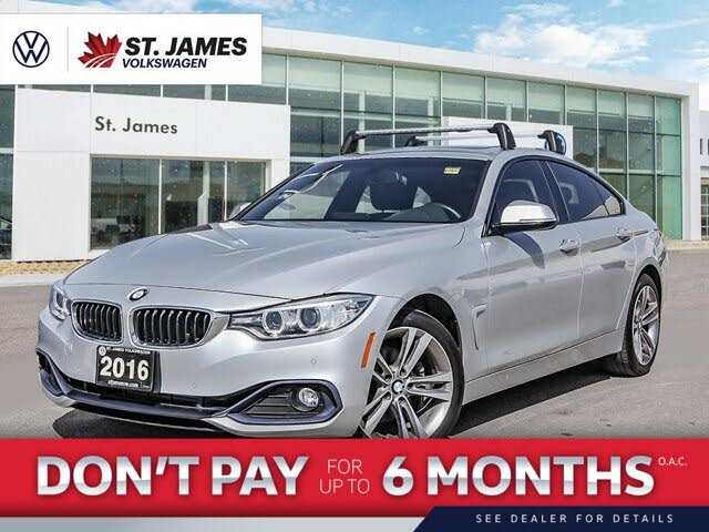 2016 BMW 4 Series 428i xDrive Gran Coupe AWD