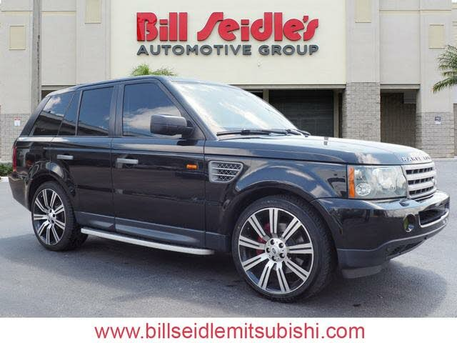 2008 Land Rover Range Rover Sport Supercharged LE