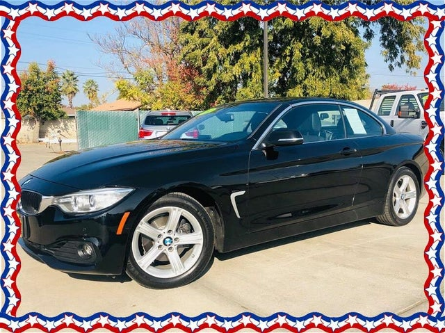 2014 BMW 4 Series 428i Convertible RWD