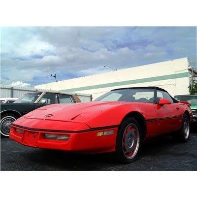 1984 Chevrolet Corvette Coupe RWD