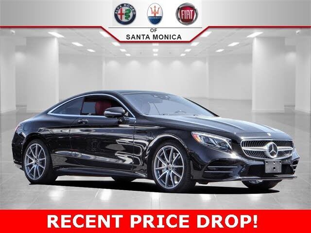2019 Mercedes-Benz S-Class Coupe S 560 4MATIC AWD