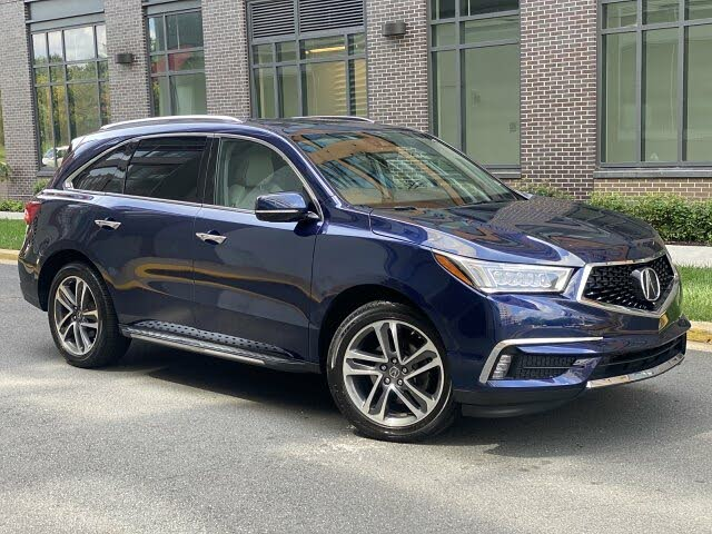 2017 Acura MDX SH-AWD with Technology and Entertainment Package