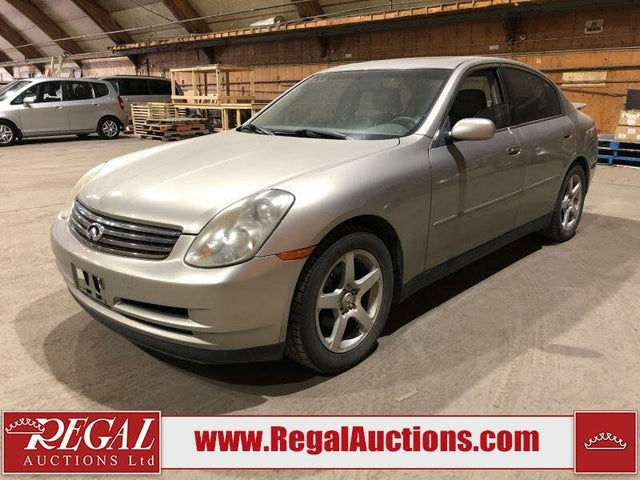 2003 INFINITI G35 Sedan RWD with Leather
