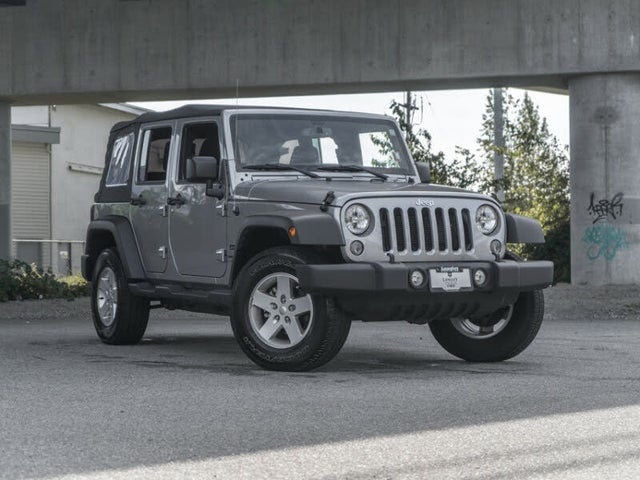 2018 Jeep Wrangler Unlimited JK Sport 4WD