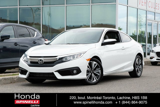 2016 Honda Civic Coupe EX-T with Honda Sensing