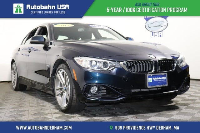 2017 BMW 4 Series 440i xDrive Gran Coupe AWD