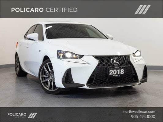 2018 Lexus IS 350 AWD